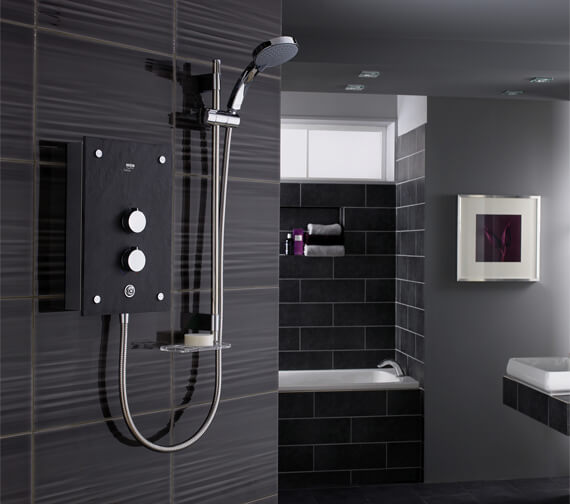 Mira Galena 9.8kW Thermostatic Electric Shower With Kit
