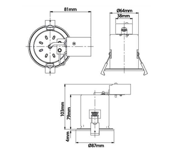 Technical drawing QS-V88699 / SE30034W0.1