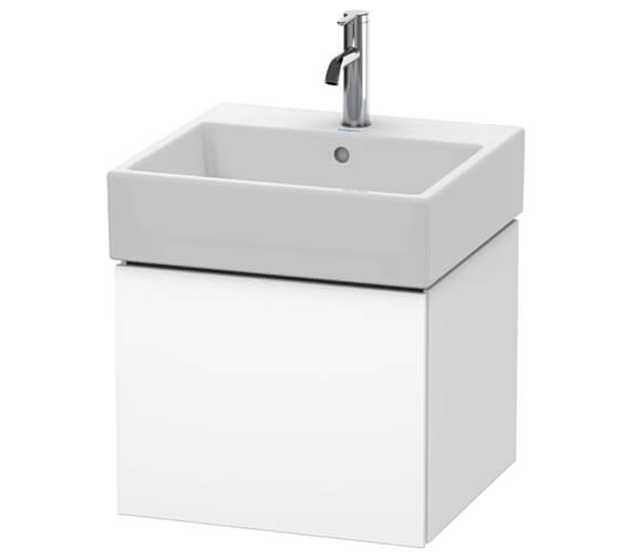 Duravit L-Cube Single Drawer Vanity Unit With Vero Air Basin