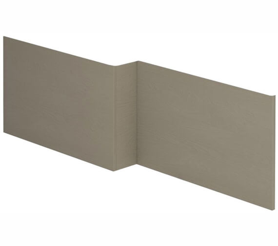 Alternate image of Essential Vermont MDF L Shape Front Bath Panel 1700mm