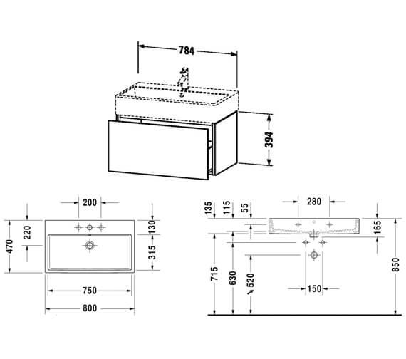 Technical drawing QS-V80783 / LC617401818