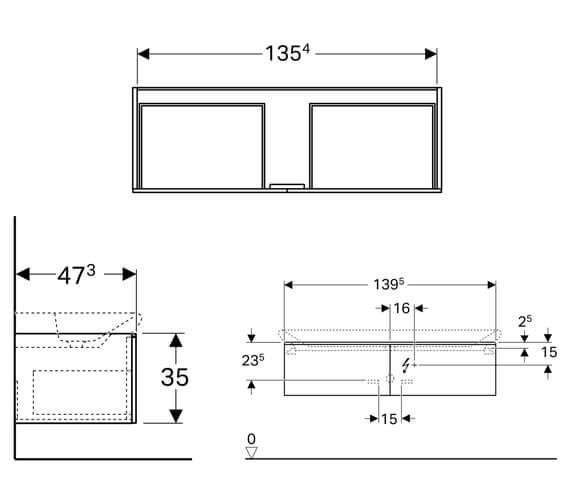 Technical drawing QS-V93827 / 500.347.00.1