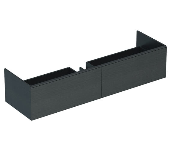 Alternate image of Geberit Xeno2 Two Drawers Wall Hung Vanity Unit