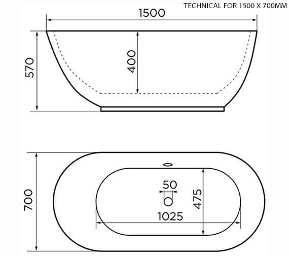 Technical drawing QS-V96003 / 74001-1500B