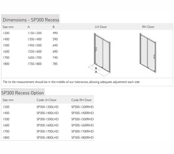 Technical drawing QS-V100107 / SP300-1200LHD