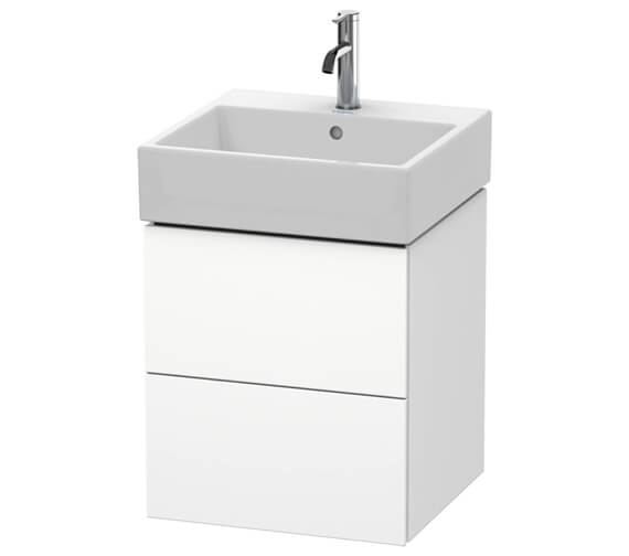 Duravit L-Cube 2 Drawer Vanity Unit With Vero Air Basin