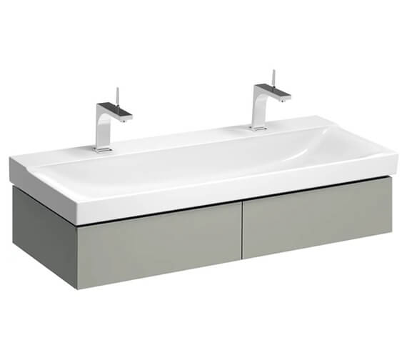 Additional image of Geberit Xeno2 1174 x 462mm Two Drawers Vanity Unit