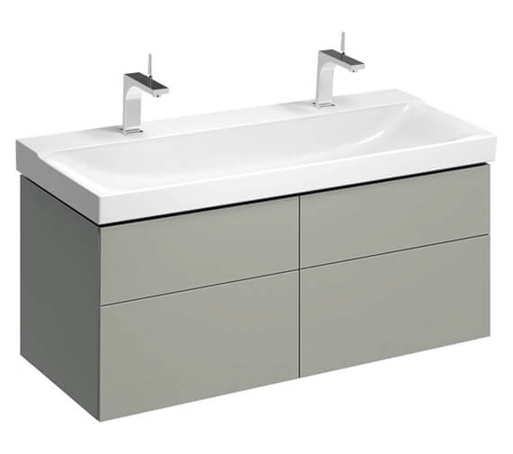 Additional image of Geberit Xeno2 1174 x 462mm Four Drawers Vanity Unit