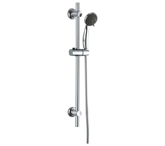 Niagara Equate Round Slide Rail With Shower Handset