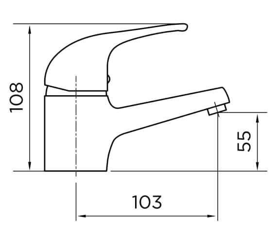 Technical drawing QS-V101238 / 9113