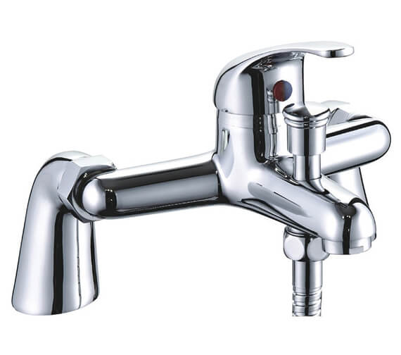Niagara Conway Deck Mounted Bath Shower Mixer Tap With Kit