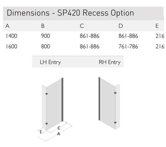Technical drawing QS-V100138 / SP420-14x9LHE
