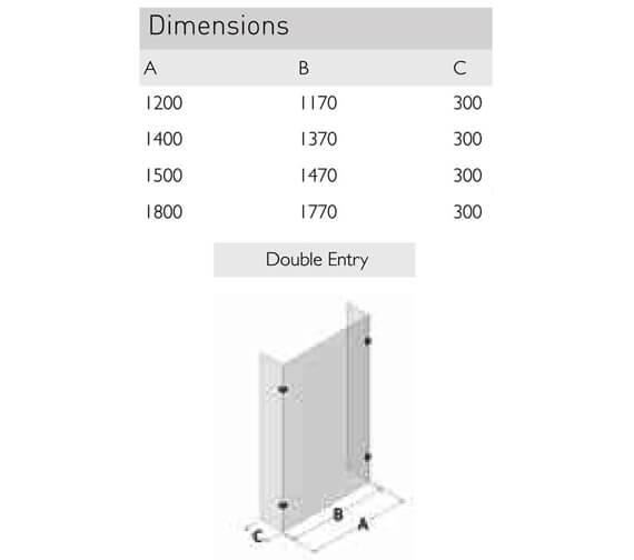 Technical drawing QS-V100143 / SP450-1200