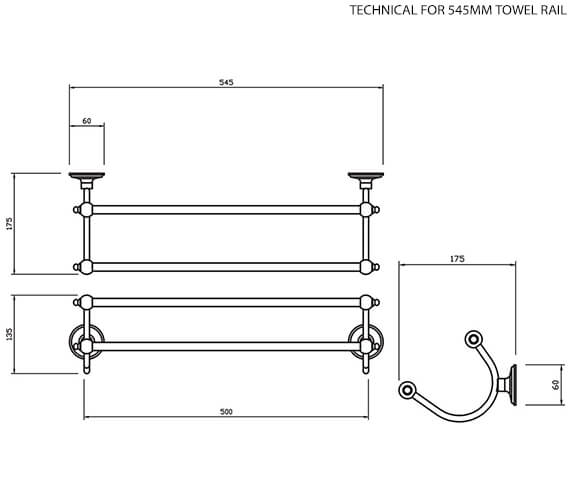Technical drawing QS-V15793 / 617C