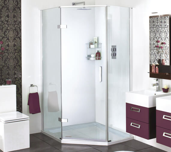 Aqata Spectra SP500 Exclusive Quintet Hinged Door Shower Enclosure