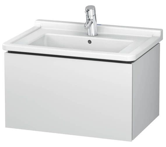 Duravit L-Cube Wall Mounted 1 Drawer Vanity Unit For Starck 3 Basin
