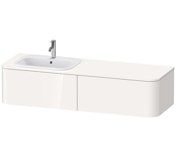 Duravit Happy D.2 Plus 1600 x 550mm Vanity Unit For Happy D.2 Countertop Basin