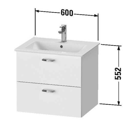 Technical drawing QS-V101252 / XB612003030