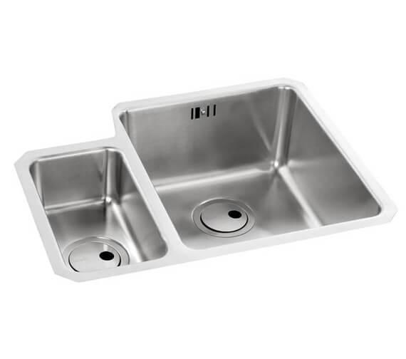 Abode Matrix R25 1.5 Bowl Undermount Stainless Steel Kitchen Sink