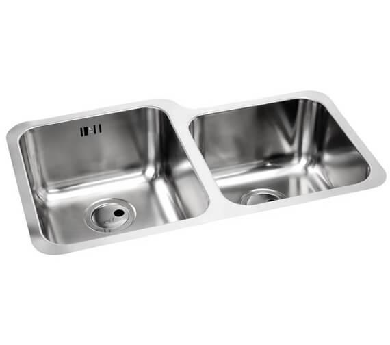 Abode Matrix R50 1.75 Bowl Stainless Steel Kitchen Sink
