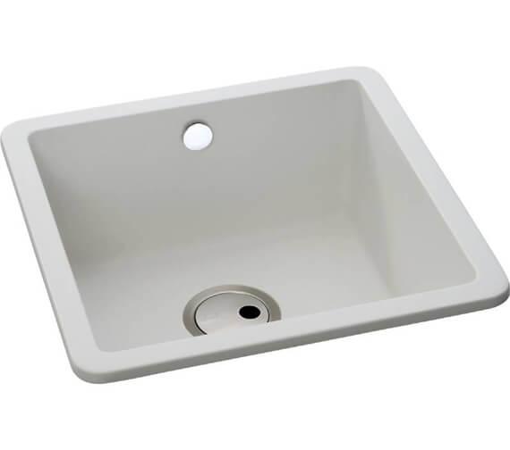 Abode Matrix SQ GR15 1.0 Bowl Kitchen Sink