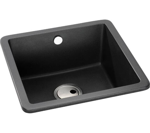 Additional image of Abode Matrix SQ GR15 1.0 Bowl Kitchen Sink