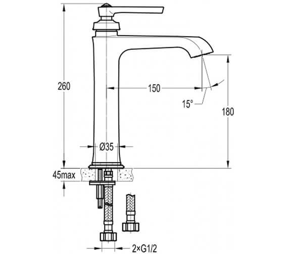 Technical drawing QS-V101028 / LIBAS