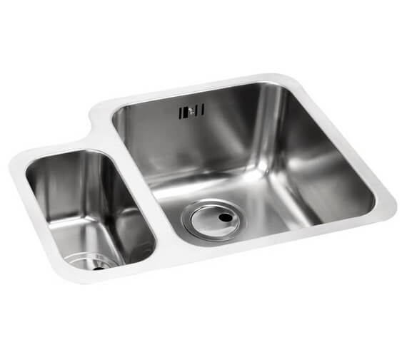 Abode Matrix R50 1.5 Bowl Stainless Steel Kitchen Sink