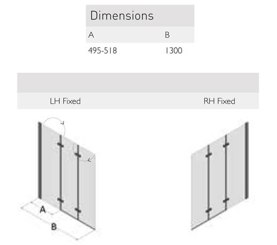 Technical drawing QS-V100154 / SP493-1300LHF