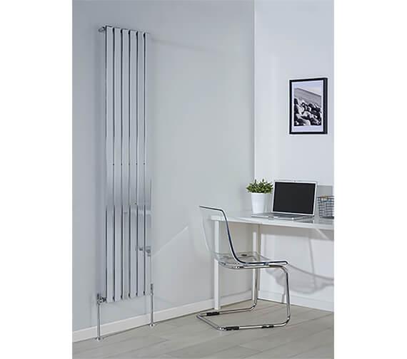 Biasi Lorenza Modern Vertical Double Flat Panel Radiator - 1800mm High