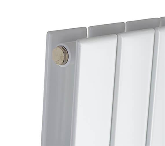Additional image of Biasi Lorenza Modern Vertical Double Flat Panel Radiator - 1800mm High