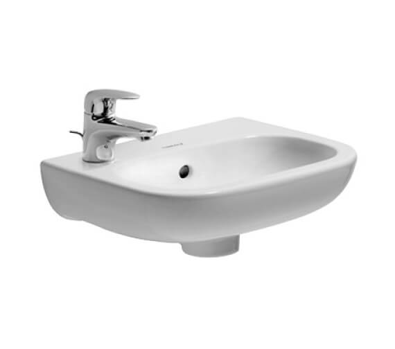 Additional image of Duravit D-Code 360mm Handrise Basin Without Tap Hole