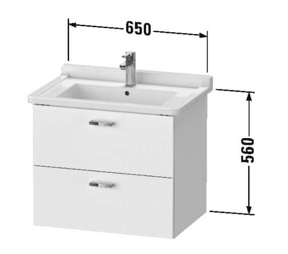 Technical drawing QS-V101255 / XB618505353