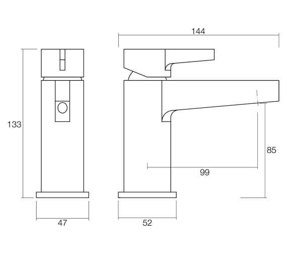 Technical drawing QS-V4798 / T296102