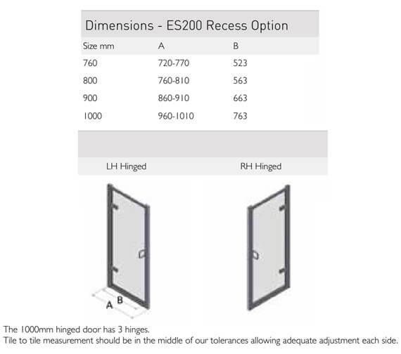 Technical drawing QS-V100158 / ES200-760LHH