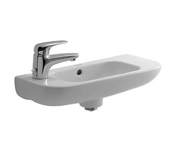 Additional image of Duravit D-Code 500mm Handrise Basin Without Tap Hole