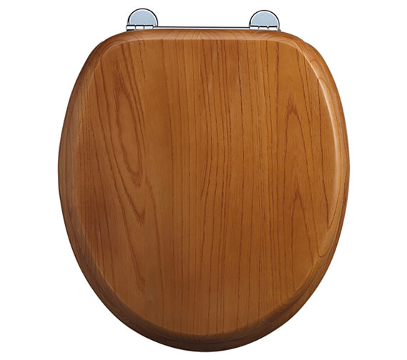 Burlington Soft Close Toilet Seat Oak
