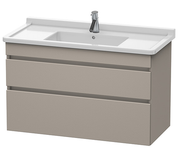 Duravit DuraStyle 1000mm 2 Drawer Vanity Unit With Basin