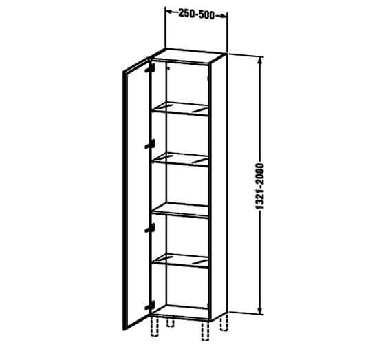 Technical drawing QS-V63797 / LC1191L1818