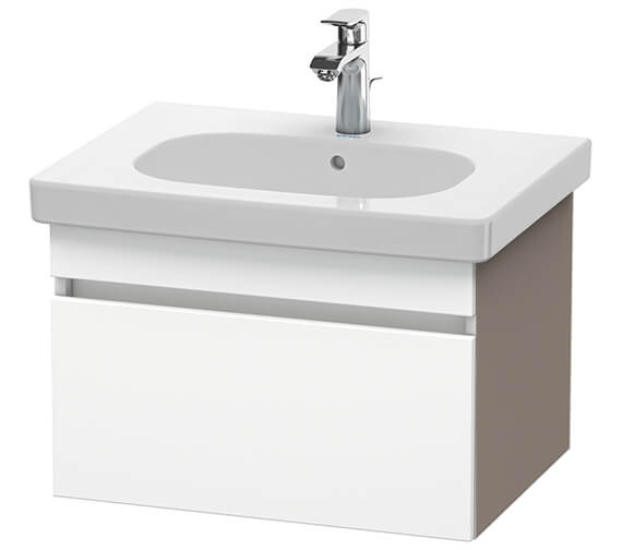 Duravit DuraStyle 600mm Vanity Unit With 650mm Basin