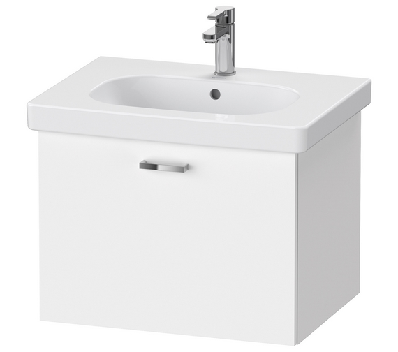 Duravit XBase 1 Pull Out Compartment Vanity Unit For D-Code Basin