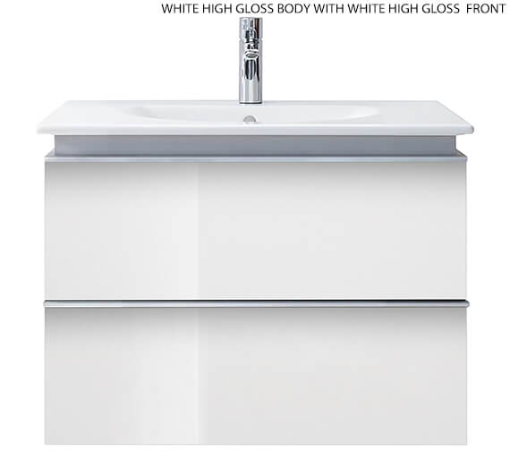 Additional image of Duravit Darling New 600mm 2 Drawers Vanity Unit