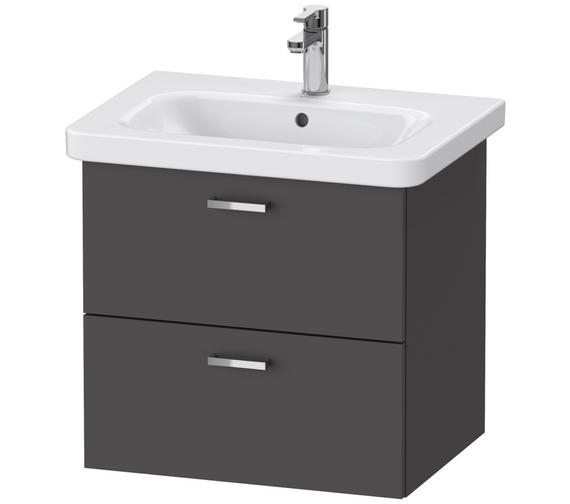 Duravit XBase 2 Drawer Vanity Unit For DuraStyle Basin