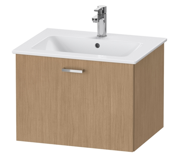 Duravit XBase 1 Pull Out Compartment Vanity Unit For ME By Starck Basin