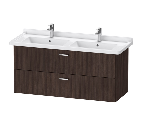 Duravit XBase 1200mm Wall Mounted Vanity Unit With 2 Drawer For Starck 3 Basin