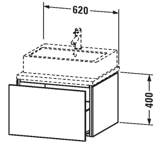 Technical drawing QS-V96240 / LC682704949