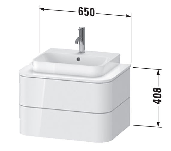 Technical drawing QS-V99204 / HP496002222