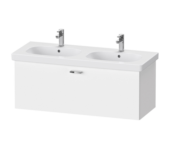Duravit XBase 1150mm 1 Pull Out Compartment Vanity Unit For D-Code Basin