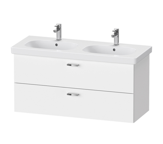 Duravit XBase 1150mm Wall Mounted 2 Drawer Vanity Unit For D-Code Basin