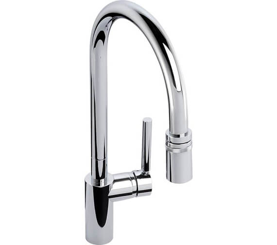 Abode Ratio Single Lever Pull Out Kitchen Mixer Tap